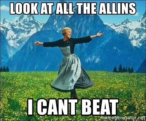 Look at all the things - Look at all the allins I cant beat