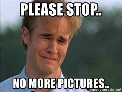 James Van Der Beek - Please stop.. no more pictures..