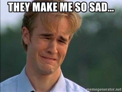 James Van Der Beek - they make me so sad...