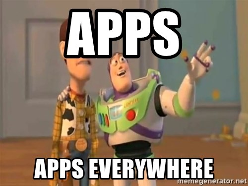 X, X Everywhere  - Apps Apps Everywhere