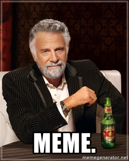 The Most Interesting Man In The World -  MEME.