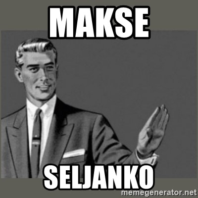 Bitch, Please grammar - Makse  seljanko