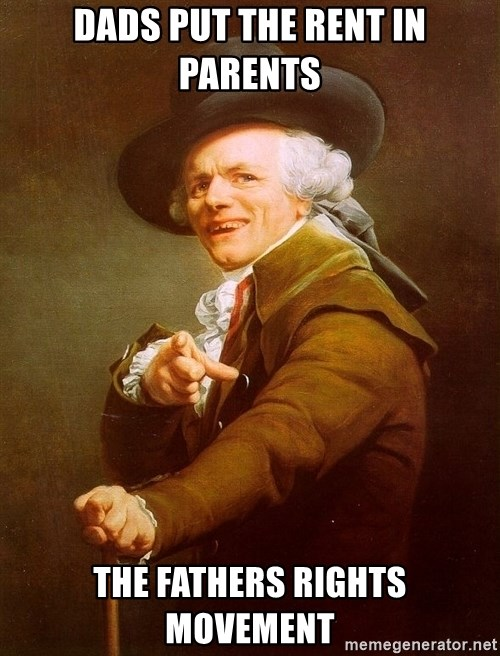 Joseph Ducreux - dads put the rent in parents the fathers rights movement