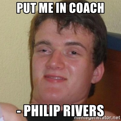 Stoner Stanley - Put me in coach - Philip Rivers