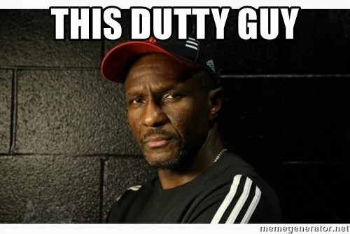 Dwane Casey's Guide to Smallball - this dutty guy