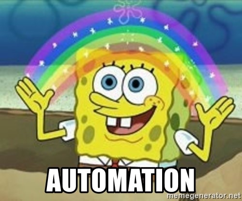 Spongebob -  Automation