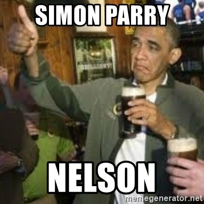 obama beer - SIMON PARRY  nelson
