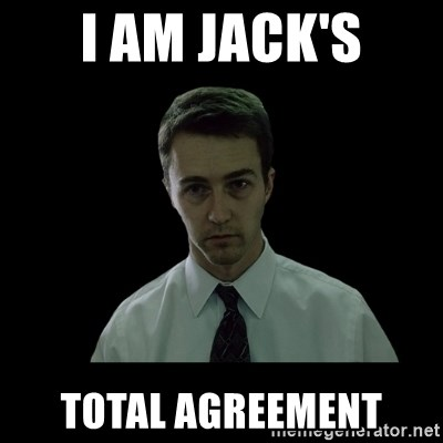 Sleepless - I am jack's total agreement