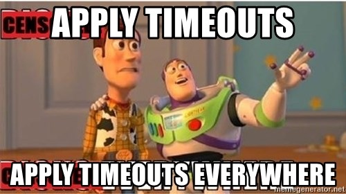 Toy Story Everywhere - APPLY TIMEOUTS APPLY TIMEOUTS EVERYWHERE