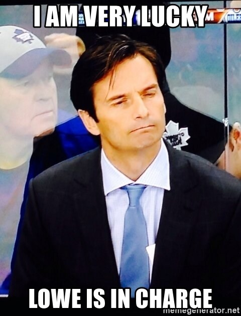 Dallas Eakins - I am very Lucky Lowe is in Charge