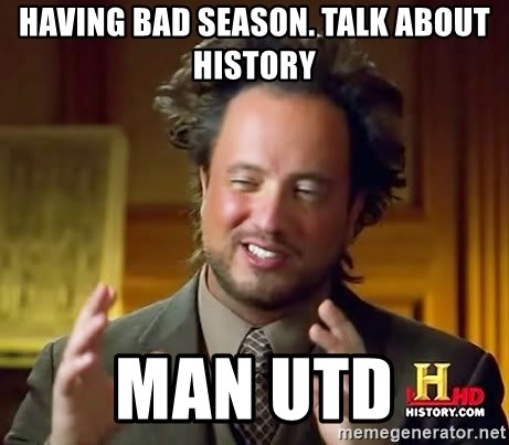 Ancient Aliens - HAVING BAD SEASON. TALK ABOUT HISTORY MAN UTD