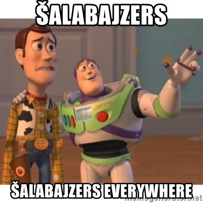 Toy story - šalabajzers šalabajzers everywhere