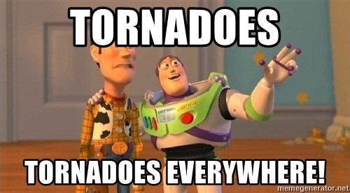 Consequences Toy Story - Tornadoes tornadoes everywhere!