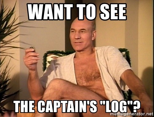 """Sexual Picard - Want to see the captain's """"log""""?"""