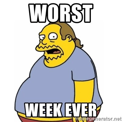 Comic Book Guy Worst Ever - worst  WEEK EVER