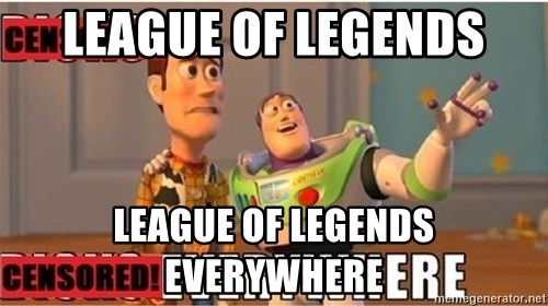 Toy Story Everywhere - League Of Legends League of legends everywhere
