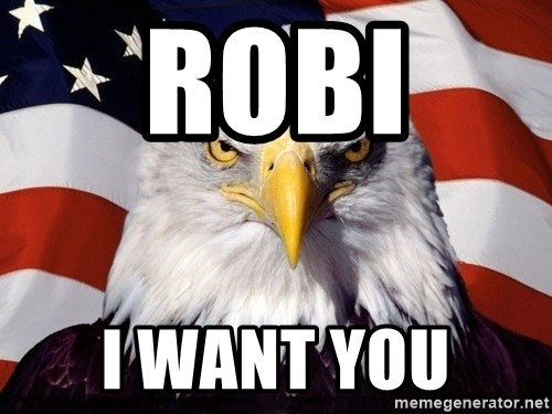 American Pride Eagle - Robi  I want you