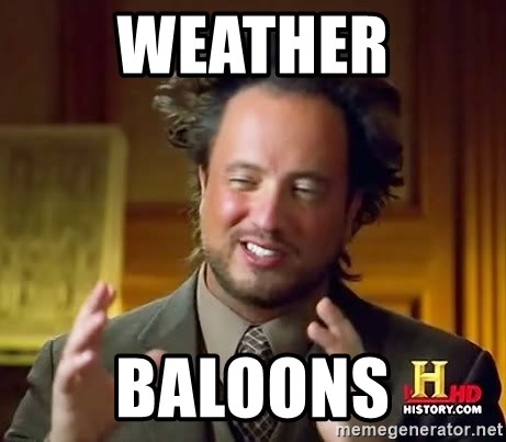 Ancient Aliens - Weather Baloons