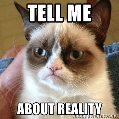 Grumpy Cat  - Tell Me About Reality