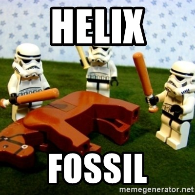 Beating a Dead Horse stormtrooper - Helix Fossil