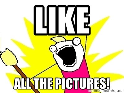 X ALL THE THINGS - Like ALL The Pictures!