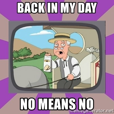 Pepperidge Farm Remembers FG - back in my day no means no