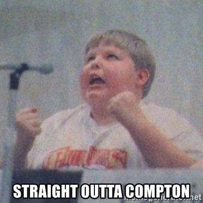 The Fotographing Fat Kid  -  straight outta compton