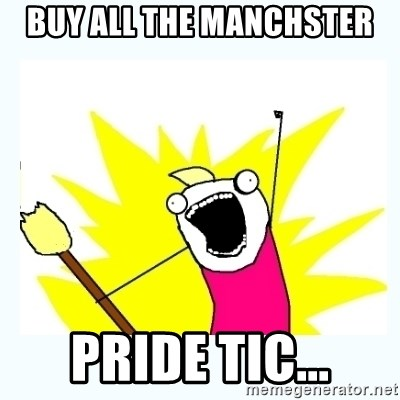 All the things - Buy All The Manchster Pride Tic...