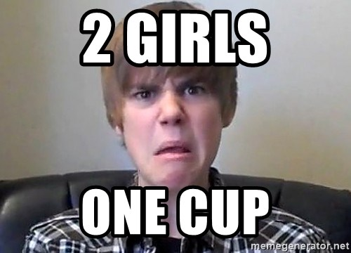 Justin Bieber 213 - 2 girls One cup