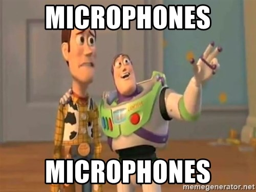 X, X Everywhere  - Microphones Microphones