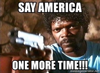 Pulp Fiction - SAY AMERICA ONE MORE TIME!!!