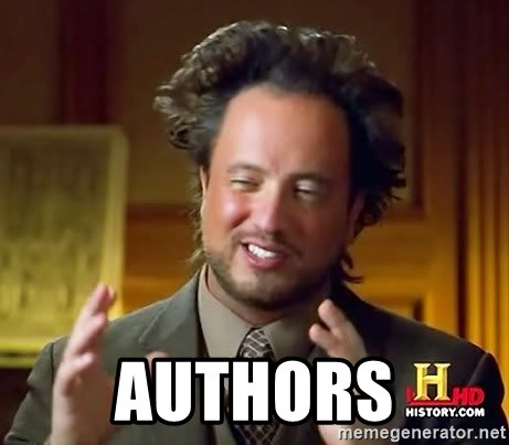 Ancient Aliens -  AUTHORS