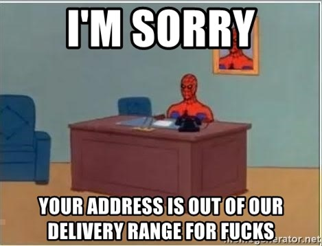 Spiderman Desk - I'm sorry your address is out of our delivery range for fucks