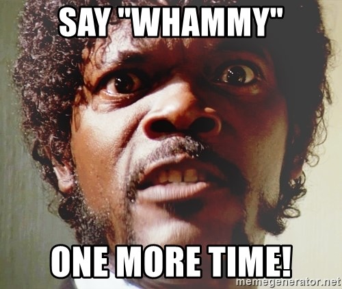 """Mad Samuel L Jackson - say """"whammy"""" one more time!"""