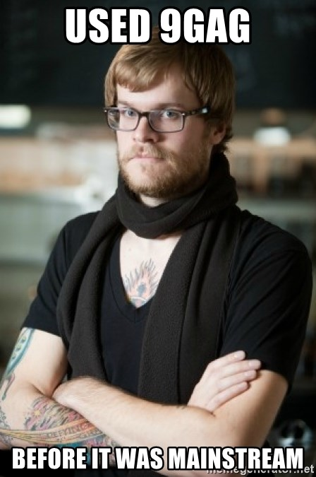 hipster Barista - used 9gag before it was mainstream
