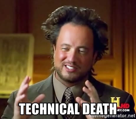 Science guy -  technical death