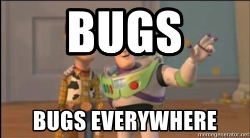 X, X Everywhere  - bugs bugs everywhere