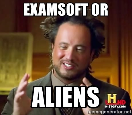 Ancient Aliens - examsoft or aliens