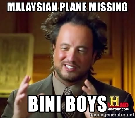 Ancient Aliens - MALAYSIAN PLANE MISSING BINI BOYS