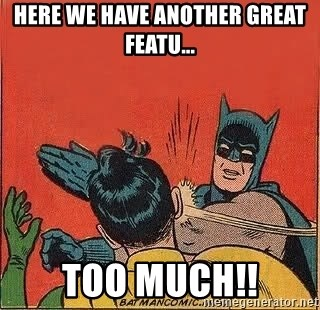 batman slap robin - Here we have another great featu... too much!!
