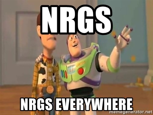 X, X Everywhere  - NRGs NRGS EVERYWHERE