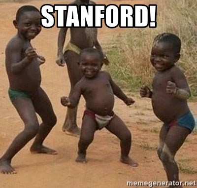Happy african kids - STANFORD!