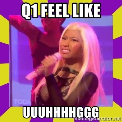 Nicki Minaj Constipation Face - Q1 Feel like UUUHHHHGGG