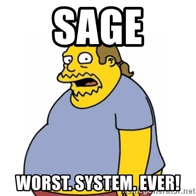 Comic Book Guy Worst Ever - Sage Worst. System. Ever!