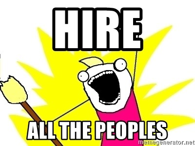 X ALL THE THINGS - HIRE ALL THE PEOPLES