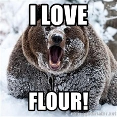 Cocaine Bear - I love Flour!