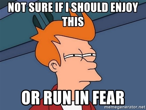 Futurama Fry - not sure if i should enjoy this or run in fear