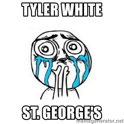 Crying face - Tyler White St. George's