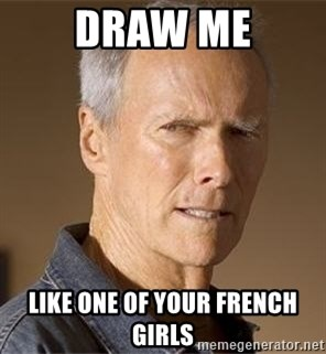 Clint Eastwood - Draw me Like one of your French girls