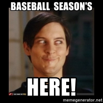 Tobey_Maguire - Baseball  season's Here!